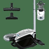 BOSCH BGS5A300 Relaxx'x ProSilence Plus Staubsauger, maximale Leistung: 700 Watt, Dark navy/Silbermetallic)