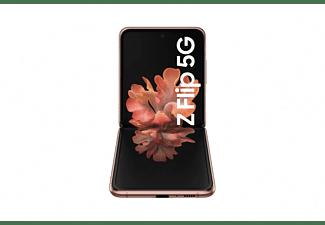 "Móvil - Samsung Galaxy Z Flip 5G, Bronce, 256 GB, 8 GB, 6.7 "" HD+, Snapdragon 855, 3300 mAh, Android"