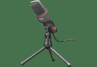 TRUST Streaming Mikrofon GXT 212 Mico, USB, Schwarz (23791)