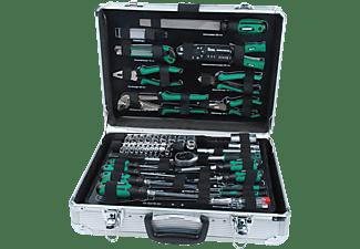 MANNESMANN 29075 Werkzeugsatz 108-teilig Handwerkzeug, Grün/Schwarz