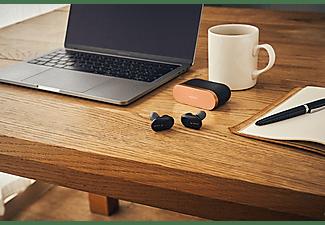 SONY True Wireless Bluetooth In-Ear Kopfhörer WF-1000XM3 mit Geräuschminimierung, Ohrhörer, schwarz