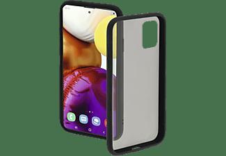 HAMA Invisible, Backcover, Samsung, Galaxy A71, Schwarz/Transparent