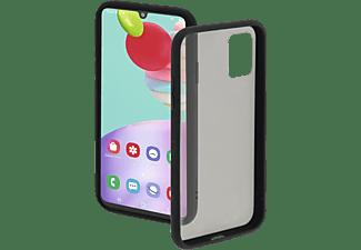 HAMA Invisible, Backcover, Samsung, Galaxy A41, Schwarz/Transparent