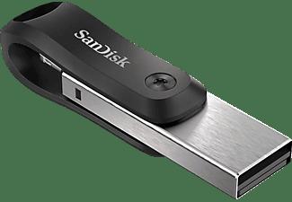 SANDISK iXpand Go USB-Stick, 64 GB, Silber