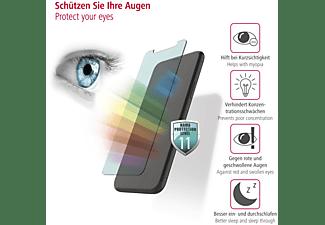 HAMA Anti-Bluelight+Antibakterielles 3D-Full-Screen Schutzglas(für Apple iPhone XR, iPhone 11)