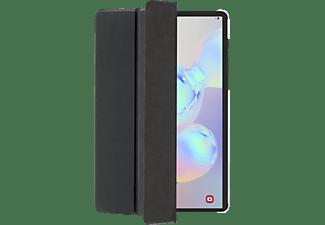 HAMA Fold Clear Tablethülle Bookcover für Samsung Polyurethan, Schwarz