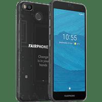 FAIRPHONE 3 64GB, Schwarz/Transparent