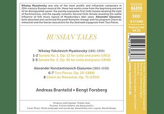 Brantelid, Andreas & Forsberg, Bengt - Russian Tales  - (CD)