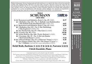 Roth,Detlef/Eisenlohr,Ulrich - Schumann Lieder Edition, Vol. 9  - (CD)