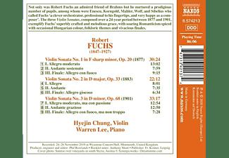 Chung,Hyejin/Lee,Warren - Violin Sonatas Nos. 1-3  - (CD)
