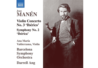 Valderrama,Ana María/Ang,Darrell/Barcelona SO - Joan Manen: Violin Concerto No. 3 'iberico' - Symp  - (CD)