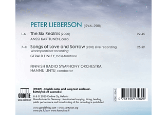 Finley,Gerald/Karttunen,Anssi/Lintu,Hannu/+ - Songs Of Love And Sorrow - The Six Realms  - (CD)
