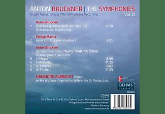 Hanjörg Albrecht - The Symphonies Vol. 0  - (CD)