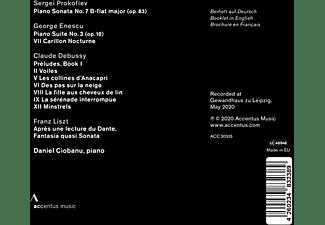 Daniel Ciobanu - DANIEL CIOBANU  - (CD)