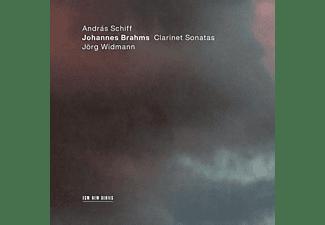 András Schiff - Johannes Brahms: Clarinet Sonatas  - (CD)