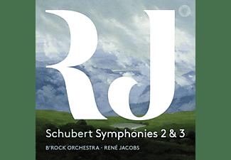 René Jacobs - B'rock Orchestra - SCHUBERT: SYMPHONIES 2 And 3  - (CD)