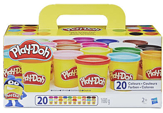 PLAY-DOH Super Farbenset (20er Pack) Knete, Mehrfarbig