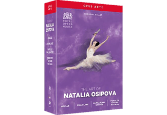 Natalia Osipova - THE ART OF NATALIA OSIPOVA  - (DVD)