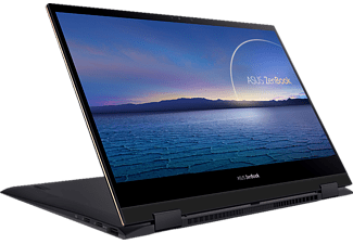 ASUS ZenBook Flip S UX371EA-HL003T, Convertible mit 13,3 Zoll Display, Core i7 Prozessor, 16 GB RAM, 1 TB SSD, Intel® Iris™ Plus Grafik, Jade Black