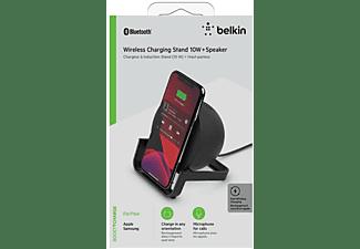 BELKIN AUF001vfBK Wireless Charging Stand universal, Schwarz