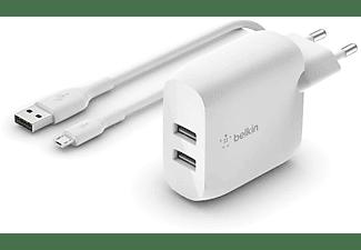 BELKIN WCE002vf1MWH Wireless Charging Pad universal, Weiß