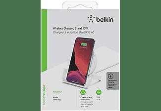 BELKIN WIB001vfWH Wireless Charging Stand universal 10W, Weiß