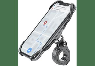 "Soporte de móvil para bici - Cellular Line Bike Holder Pro, para móviles entre 4 y 6.5"", Negro"