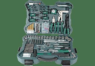MANNESMANN 29088 Werkzeugsatz 303-teilig Handwerkzeug, Grün/Schwarz