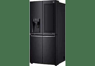 LG GMX844MCKV French Door Kühlgefrierkombination (F, 1787 mm hoch, Matt Black Stainless)
