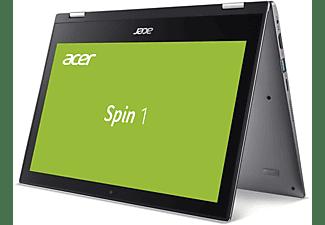 ACER Spin 1 (SP111-34N-P36Y), Convertible mit 11,6 Zoll Display, Pentium Prozessor, 4 GB RAM, 128 GB eMMC, Intel UHD Graphics 605, Steel Gray