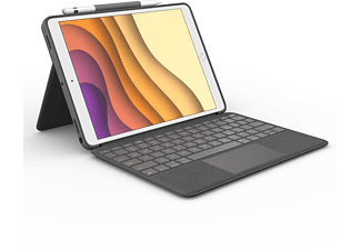 LOGITECH Combo Touch Tastatur-Case Gray