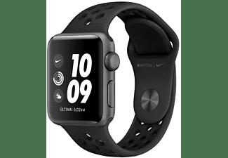 Apple Watch Nike Series 3 GPS, 38 mm, OLED, 8 GB, WiFi, Antracita/Negra