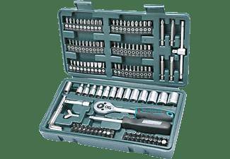 MANNESMANN 29166 Steckschlüssel-Satz 130-teilig Handwerkzeug, Grün/Schwarz