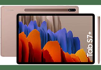 "Tablet - Samsung Galaxy Tab S7+, 128 GB, Bronce, WiFi, 12.4"", 6 GB RAM, Snapdragon 865 Plus, Android 10"