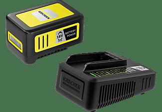 KÄRCHER Starter KIT Battery Power 18/50 Lithium-Ionen-Akku, Schwarz/Gelb