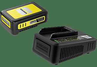 KÄRCHER Starter KIT Battery Power 18/25 Lithium-Ionen-Akku, Schwarz/Gelb