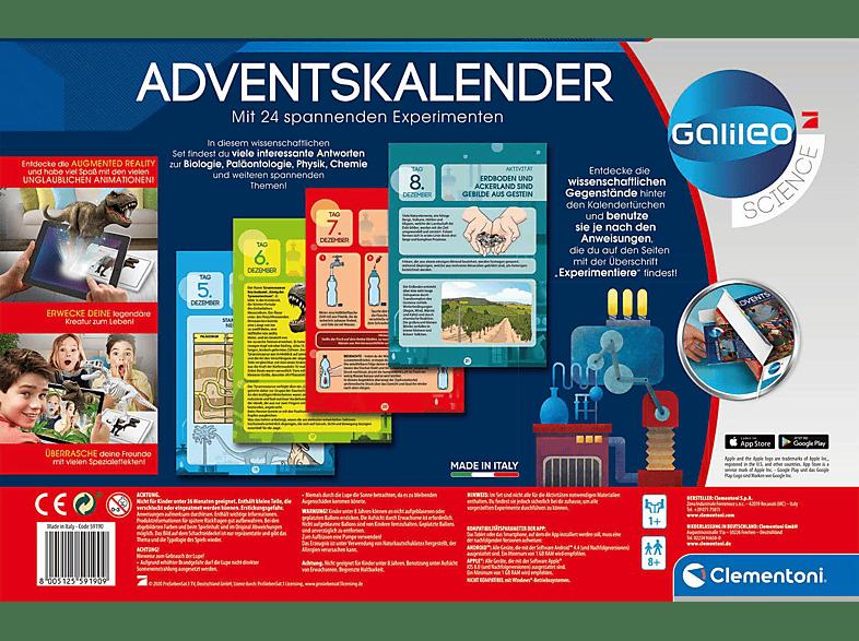 Galileo 2020 Adventskalender, Mehrfarbig