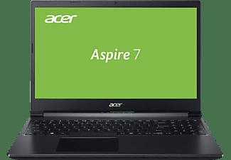 ACER Aspire 7 (A715-75G-58WE) Tastaturbeleuchtung, Notebook mit 15,6 Zoll Display, Core i5 Prozessor, 8 GB RAM, 512 GB SSD, GeForce GTX 1650, Charcoal Black