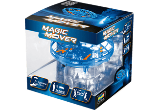 "REVELL Quadcopter ""MAGIC MOVER"" blau Fun-Spielzeugdrohne, Blau/Transparent"