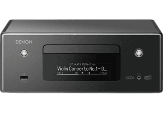DENON CD-Receiver RCD-N11DAB, schwarz