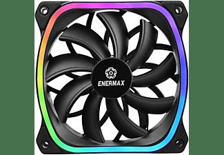 ENERMAX SquA RGB 120 mm ARGB Gehäuselüfter, Schwarz