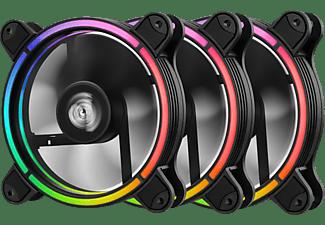ENERMAX T.B.RGB AD. 120 mm ARGB 3er Pack Gehäuselüfter, Schwarz