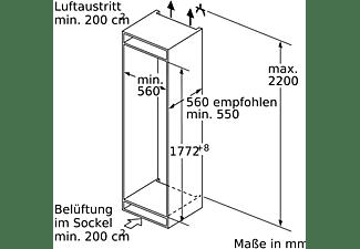 SIEMENS KI86NADF0 iQ500 Kühlgefrierkombination (F, 1772 mm hoch, k.A.)