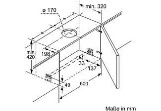 SIEMENS LI99SA684, Dunstabzugshaube (898 mm breit, 290 mm tief)