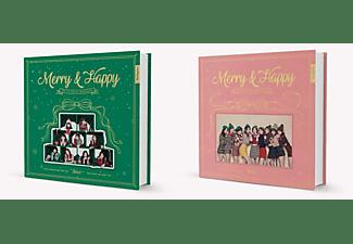 Twice - MERRY & HAPPY  - (CD)
