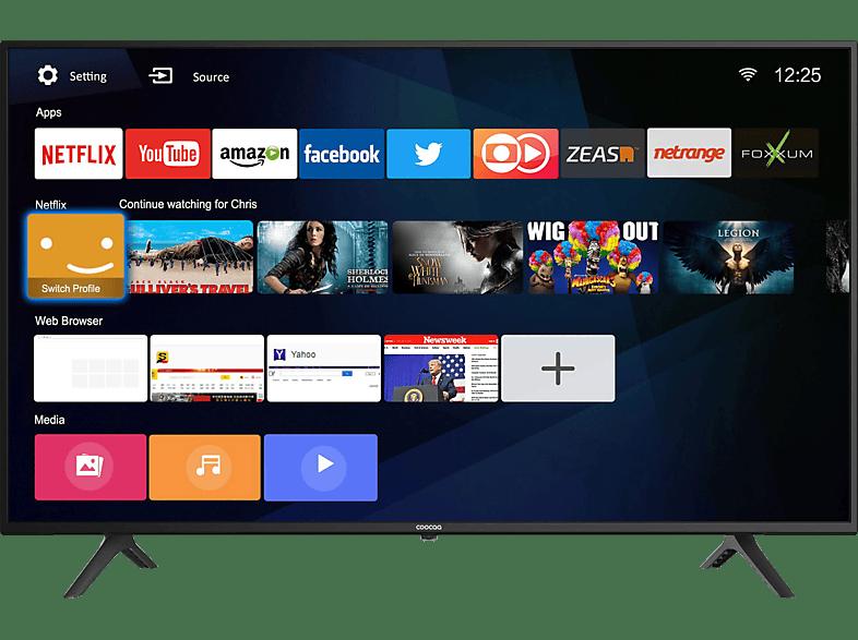 Coocaa 43S3M LED-TV, Flat, 43 Zoll / 109 cm, UHD 4K
