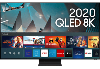 SAMSUNG Q800T (2020) 65 Zoll 8K Smart TV QLED Fernseher