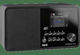 IMPERIAL DABMAN I150 DAB+ Radio, DAB, DAB+, AM, FM, Internet Radio, Schwarz