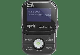 IMPERIAL DABMAN 65 Autoradio-Adapter, DAB+ / UKW, DAB+, DAB, AM, FM, Bluetooth, Schwarz