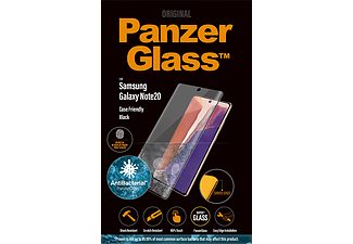 PANZERGLASS Fingerprint Zwarte Case Friendly voor Samsung Galaxy Note20